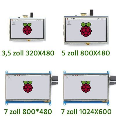 "Display für Raspberry Pi 3/2/B+3.5 bis 3.5"" LCD HDMI Touch Screen DE VERSANDTY"