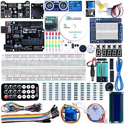 Elegoo Progetto Arduino Scheda Uno R3 Starter Kit Advanced per (U8M)