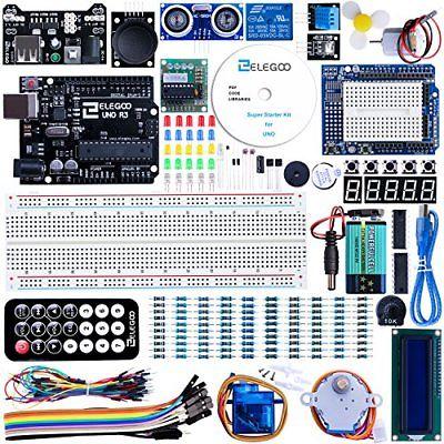 Elegoo Progetto Arduino Scheda UNO R3 Starter Kit Super per Principianti (0wm)