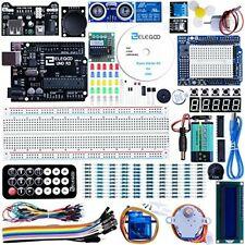 Elegoo Scheda UNO R3 per Arduino Progetto Starter Kit Piu Completo Tutorial Ital