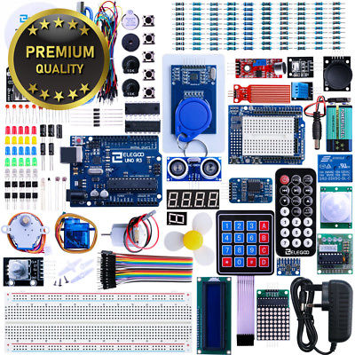 Elegoo UNO R3 Project The Most Complete Ultimate Starter Kit w/TUTORIAL,...