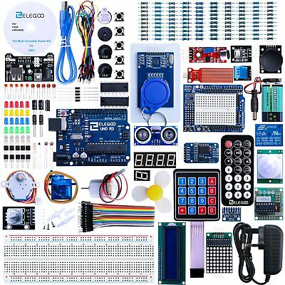 Elegoo UNO R3 Project The Most Complete Ultimate Starter Kit w/TUTORIAL, UNO R3