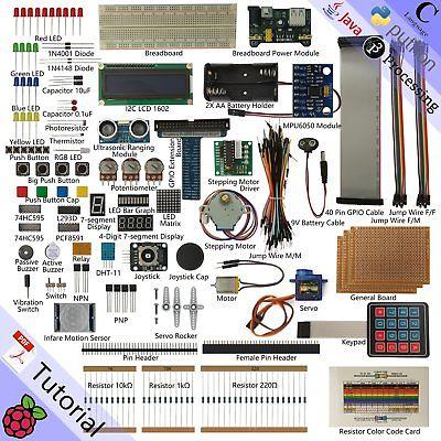 Freenove Ultimate Starter Kit for Raspberry Pi, Model 3B+ 3B 3A+ 2B 1B+ (A7G)