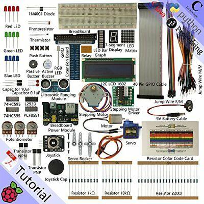 Freenove Ultrasonic Starter Kit for Raspberry Pi | Beginner Learning | (M0E)