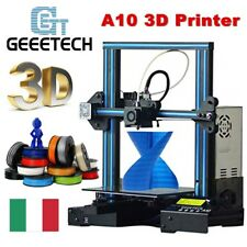 Geeetech A10 Stampante 3D Printer ABS/PVA/HIPS/PETG/PLA 1.75mm/0.4mm Support IT