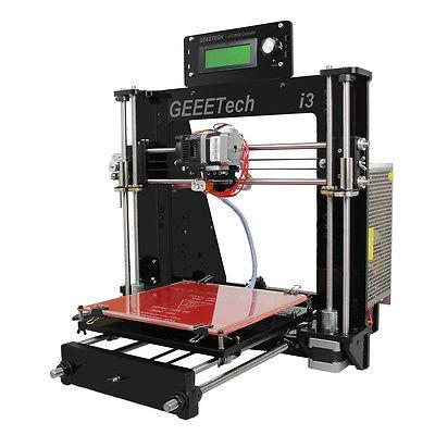 Geeetech Prusa I3 pro B stampante 3D Printer Acrylic support 5 filament