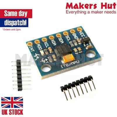 GY-521 MPU-6050 3 Axis gyro 3 Axis Accelerometer Module Arduino Raspberry Pi