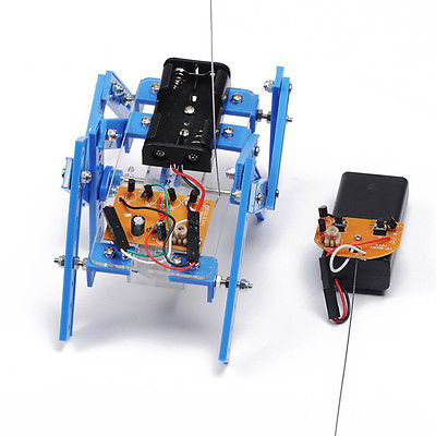 Hexapod Robot DIY Puzzle Robot Kit Assembly Material Package For Children
