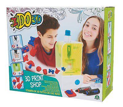 I DO 3D Print Shop - Stampante per Creare Oggetti 3D - Giochi Preziosi D3D11000