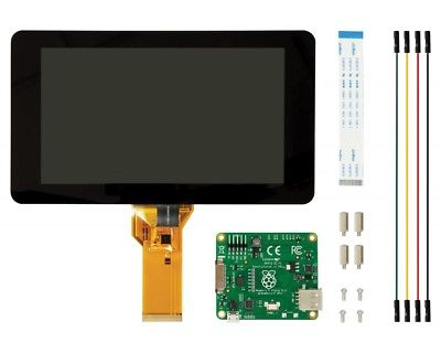"KIT schermo Touch screen 10 dita display Monitor 7"" per Raspberry Pi"