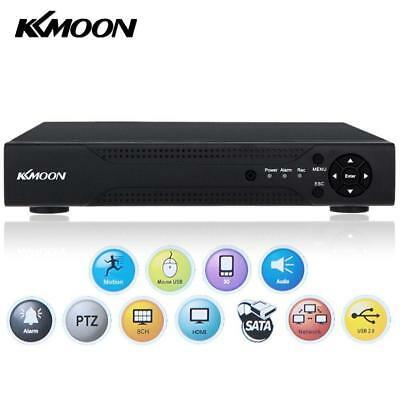 KKmoon 8CH AHD DVR 1080N/720P NVR HDMI P2P Cloud Network Onvif Digital Video...