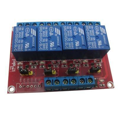 Modulo di scheda relè a 4 canali per Arduino Raspberry Pi ARM AVR DSP PIC