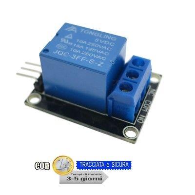Modulo Relè 1 canale DC 5V per Arduino e Raspberry Pi Module one channel - 10029