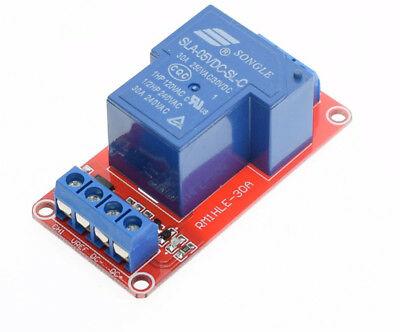 Modulo relè 5V 1 canale per carichi fino a 250V 30A per arduino e raspberry