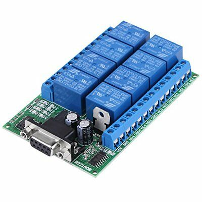 Modulo Relè a 8 Canali, Smart Home Relay Board Arduino Raspberry Pi (d7E)