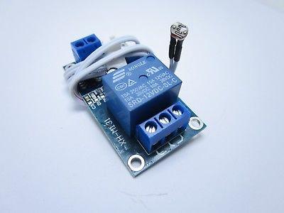 Modulo relè XH-M131 12V con sensore crepuscolare di rilevamento luce regolabile