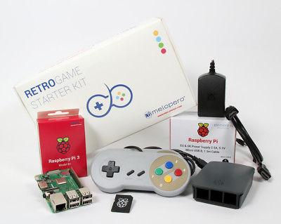 Raspberry Pi 3 B+ RetroGame Starter Kit 32GB