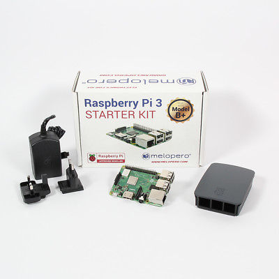 Raspberry Pi 3 Model B+ Official Essentials Kit BLACK