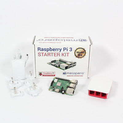 Raspberry Pi 3 Model B+ Official Essentials Kit WHITE
