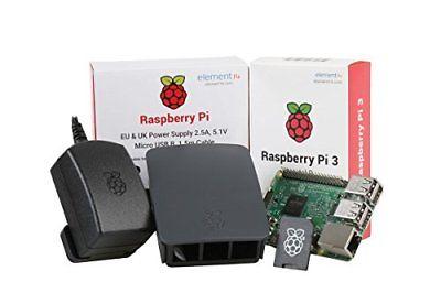 RASPBERRY PI 3 OFFICIAL DESKTOP STARTER KIT 16GB BLACK
