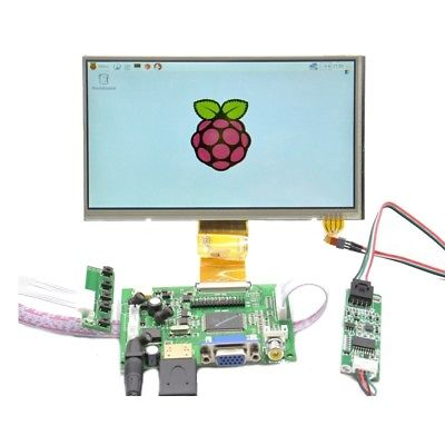 Raspberry Pi 7 inch HDMI HD 1024 * 600 Touch Screen Module Kit