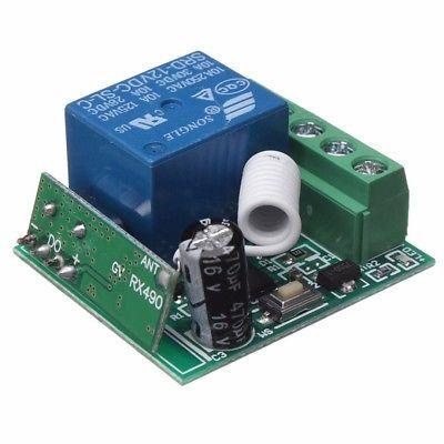 Relay Relè Modulo DC12V 10A 1CH Telecomando Wireless Remoto Interruttore Control