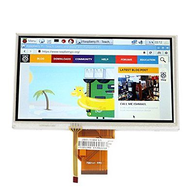 SainSmart 7 pollici TFT LCD Touch Screen Monitor per Raspberry Pi + (V6a)