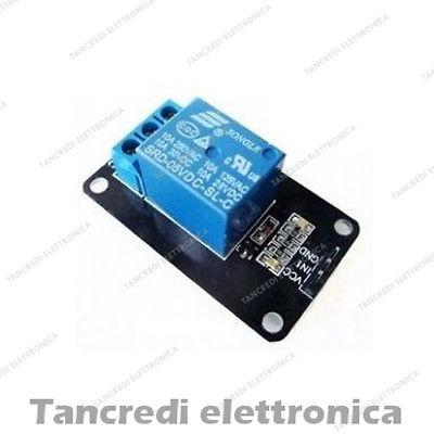 Scheda relè 1 canale arduino e pic modulo relay board 1 channel 5v 220V 10A