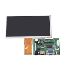 Schermo LCD da 7 pollici Monitor per scheda driver Raspberry Pi + HDMI / VGA CRI