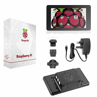 SmartPi Raspberry Pi 3 Touchscreen Kit- 17,8 cm Touchscreen e Custodia (z1E)