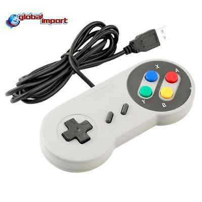 SNES CLASSIC MINI GAMEPAD USB PER WINDOWS ANDROID MAC LINUX RETROPIE NINTENDO