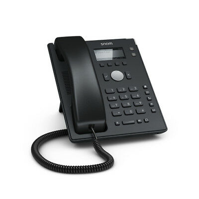 Snom 4361 D120 IP phone Black Wired handset 2 lines Desk Telephone - 132 x 64 -