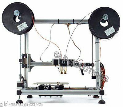 STAMPANTE 3D 3DRAG A DOPPIO ESTRUSORE in Kit da Montare PER Creare Oggetti
