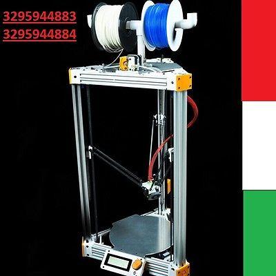 STAMPANTE 3D ALTA PRECISIONE PROFESSIONALE ASSEMBLATA GRANDE XXL ALLUMINIO NUOVA