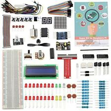 Sunfounder Project Super Starter Kit for Raspberry Pi 3, 2 Model B+ w/ 40-Pin