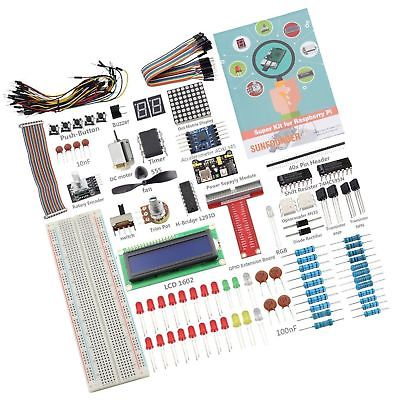 SunFounder Raspberry Pi 3 Model B+ Starter Kit Project Super Kit for RPi 3B+ ...