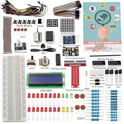 SunFounder Raspberry Pi 3 Model B + starter kit progetto super kit per (B5c)