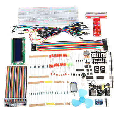 Super Starter Kit For Raspberry Pi 3 2 Zero w Wireless & Model B+ A+ Module Kits