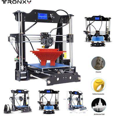 TRONXY STAMPANTE 3D PRINTER PRUSA Acrilico Telaio in acciaio MK8 Extruder @XKA