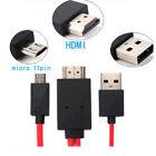 Utile Micro USB a HDMI 1080P HD Tv Cavo Adattatore per Android Smartphone Nuovo