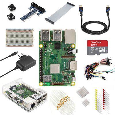 V-Kit Raspberry Pi 3Model B + (PLUS) Ultimate Starter Kit (EU (M3l)