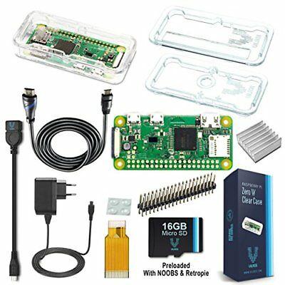 vilros Raspberry Pi Zero W Complete Starter Kit -- EU Plug Edition (nbz)