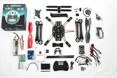 DIY Touchscreen Drone Kit Quadcopter, Pixhawk, PX4, Raspberry Pi, Coding, STEM