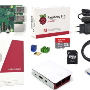 RASPBERRYITALAI raspberry pi 3 modello b plus starter kit barebone madre con kingstonBEFA