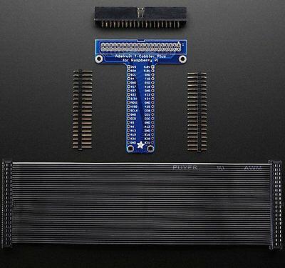 Adafruit Pi T-Cobbler Plus Kit - Breakout Scheda per Raspberry a - B 2 / 3