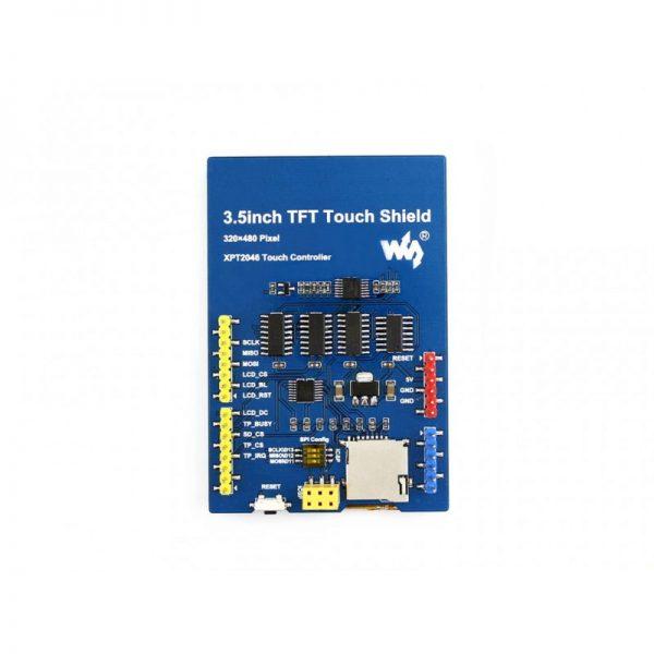 raspberryitalia waveshare 3.5inch tft touch shield 4 2 - display arduino