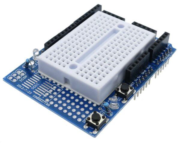 raspberryitalia Arduino ProtoShield kit Mini Breadboard 1