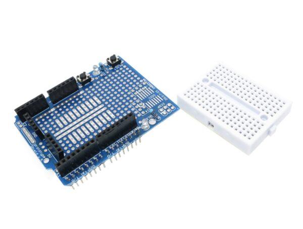 raspberryitalia Arduino ProtoShield kit Mini Breadboard 2