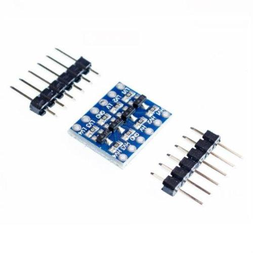 raspberryitalia convertitore di livello bidirezionale 4bit per arduino