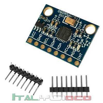 Giroscopio + Accelerometro 3 Assi MPU-6050 GY-521 Shield Arduino Raspberry